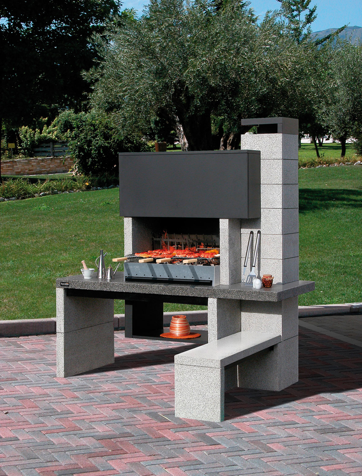mcz gartengrill sunday newjersey. Black Bedroom Furniture Sets. Home Design Ideas