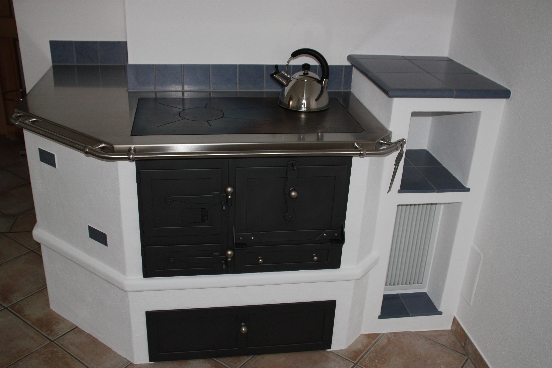 gemauerter holzherd. Black Bedroom Furniture Sets. Home Design Ideas